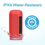 Promate SILOX 20W Portable Wireless Bluetooth Speaker - Red