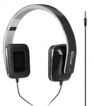 Promate SONATA Foldable Over-The-Ear Wired Stereo Headset with Built-in Mic - Black