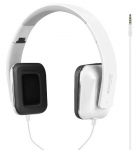 Promate SONATA Foldable Over-The-Ear Wired Stereo Headset with Built-in Mic - White