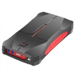 Promate SPARKTANK-10 10000mAh USB Power Bank with 12V High Power Emergency Jump Starter - Black