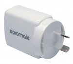 Promate SURGE-QC 3A 18W USB Universal Quick Charging Wall Charger - White