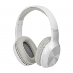 Promate SYMPHONY Lightweight Over Ear Wireless Bluetooth Headset - White