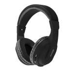 Promate TEMPO-BT Over Ear Wireless Bluetooth Headset - Black