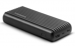 Promate TITAN-20C High-Capacity 20000mAh 3A Powerbank with Dual USB Output - Black