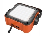 Promate TREKMATE-1 Outdoor Portable LED Flood Light with 10000mAh Built-in USB Powerbank - Orange