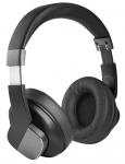 Promate TrueBeats On-Ear Wireless Stereo Headphone with Active Noise Cancelling - Black