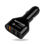 Promate TurboQC3 Heavy Duty 42W 7.8A 3-Port USB Car Charger