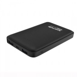 Promate VOLTAG-10 10000mAh Dual Port Battery Powerbank - Black