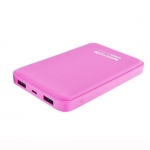 Promate VOLTAG-10 10000mAh Dual Port Battery Powerbank - Pink