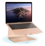Rain Design mStand360 Laptop Stand with Swivel Base - Gold