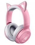 Razer Kraken BT Kitty Edition Bluetooth Overhead Wireless Gaming Headset with Razer Chroma RGB - Quartz
