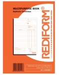 Rediform Multipurpose Accout Duplicate Book - 50 Leaf