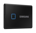 Samsung T7 Touch 500GB USB 3.2 USB-C Portable External Solid State Drive - Black