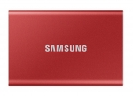 Samsung T7 500GB USB 3.2 Portable External Solid State Drive - Metallic Red