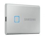 Samsung T7 Touch 1TB USB 3.2 USB-C Portable External Solid State Drive - Silver
