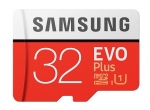 Samsung EVO Plus 32GB Class 10 UHS-I MicroSDXC Card with SD Adapter