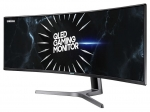 Samsung CRG90 48.8 Inch 5120 x 1440 4ms 600nit VA Wide Curved Gaming Monitor with USB Hub - HDMI DisplayPort