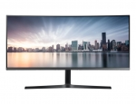 Samsung CH89 34 Inch 3440 x 1440 4ms 250nit 21:9 Ultrawide Slim Bezel VA Curved Monitor with USB Hub - HDMI DisplayPort USB-C