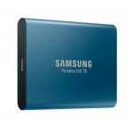 Samsung T5 Portable 500GB USB-C 3.1 External Solid State Drive - Blue