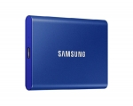 Samsung T7 Portable 2TB USB 3.2 USB-C External Solid State Drive - Indigo Blue
