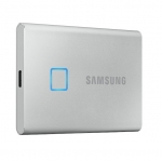 Samsung T7 Touch Portable 2TB USB 3.2 USB-C External Solid State Drive