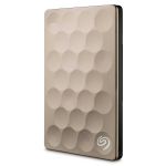 Seagate Backup Plus Ultra Slim 1TB USB3.0 Portable Hard Drive - GOLD