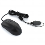 Seal Shield Silver Storm STM042 IP68 Waterproof Medical Grade USB Wired Mouse - Black