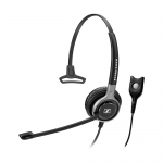Sennheiser Century SC-630 Easy Disconnect Overhead Wired Mono Headset with Noise-Cancelling Mic - Black