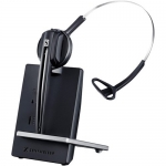 Sennheiser D 10 Overhead Wireless Mono Headset with Base Station - Skype for Business