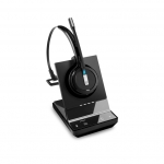 Sennheiser IMPACT SDW 5013 DECT Convertible Wireless Mono Headset with Base Station - Connection to PC/Softphone Only
