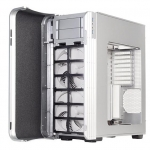 SilverStone Fortress FT04 Extended ATX Case with Air Penetrator Fans & Window - Silver
