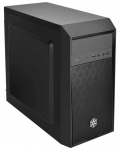 SilverStone PS16B Precision Micro-ATX Mini Tower Case - Black
