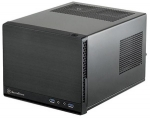 Silverstone SG13B Sugo Steel Mini-ITX Cube Case with NO PSU - Black