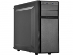 SilverStone PS11B-Q ATX Mid Tower Case Black - Plastic Front Panel