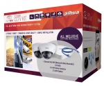 SmartView by Dahua VK2000 4 Channel IP Surveillance Kit - 1x 4chPoE NVR 1TBHDD, 2x 4MP IR Dome IP Cameras, 2x 30m Cables