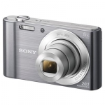 Sony DSCW810B 20.1 Megapixel 6x Optical Zoom Digital Camera - Silver