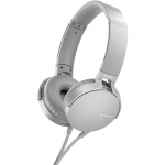 Sony MDR-XB550AP Extra Bass Overhead Style Wired Headphones - White