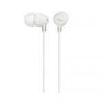 Sony MDREX15LPW In Ear Headphones with Tangle-Reducing Cable Design - White
