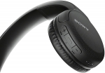 Sony WH-CH510 Bluetooth Overhead Wireless Headphones with Built-In Microphone - Black