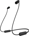 Sony WI-C200 Bluetooth In-ear Wireless Headphones with Built-In Microphone - Black