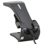 Star mPOP Barcode Scanner USB with Stand - Black