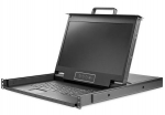Startech 1 Port 1U Rackmount KVM Console with 17 Inch Display, Built in Touchpad & Keyboard