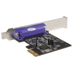 StarTech 1 Port PCI Express Dual Profile DB-25 Parallel Adapter Card