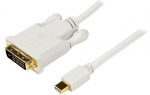 StarTech 3m Full HD 1080p Mini DisplayPort to DVI Passive Adapter Cable - White