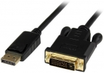 StarTech 10m DisplayPort Male to DVI-D Male Active Adapter Cable - Black