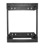 StarTech 12RU Open Frame Wall Mount Server Equipment Rack - Adjustable Depth