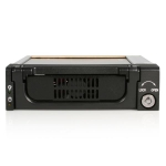StarTech 5.25 Inch Rugged SATA Hard Drive Mobile Rack Drawer - Black