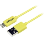 StarTech 1m Lightning to USB Charge & Sync Cable - Yellow