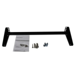 StarTech 1RU Vertical Wall Mount Equipment Bracket - 480mm Wide