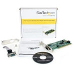 StarTech 2 Port PCI Low Profile DB-9 RS232 Serial Adapter Card + Be in the draw to WIN 1 of 2 $500 Prezzy Cards